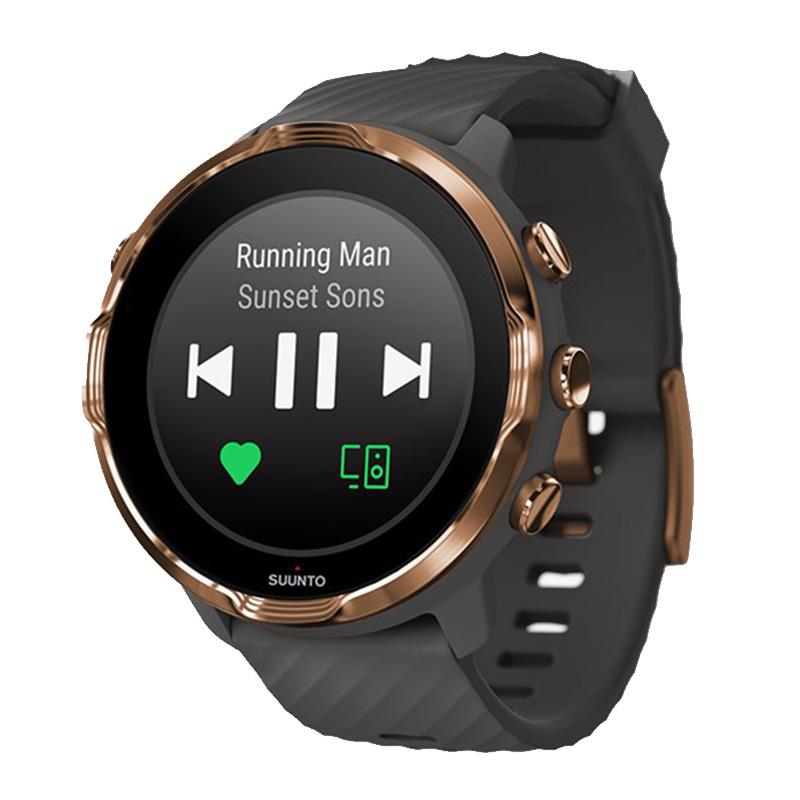 Suunto 7 Smart Watch Graphite Copper
