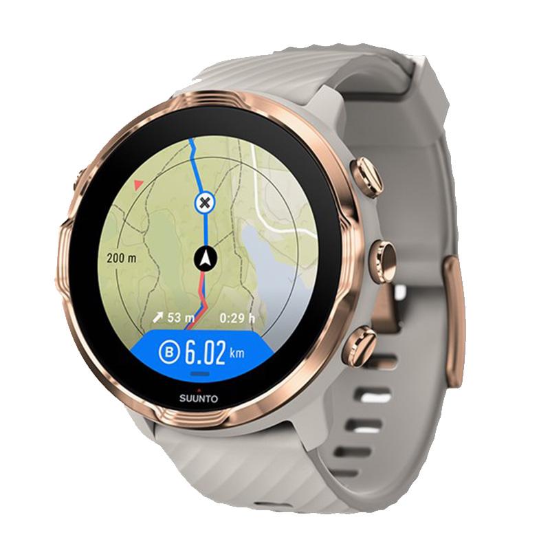 Suunto 7 Smart Watch Sand Stone Rose Gold