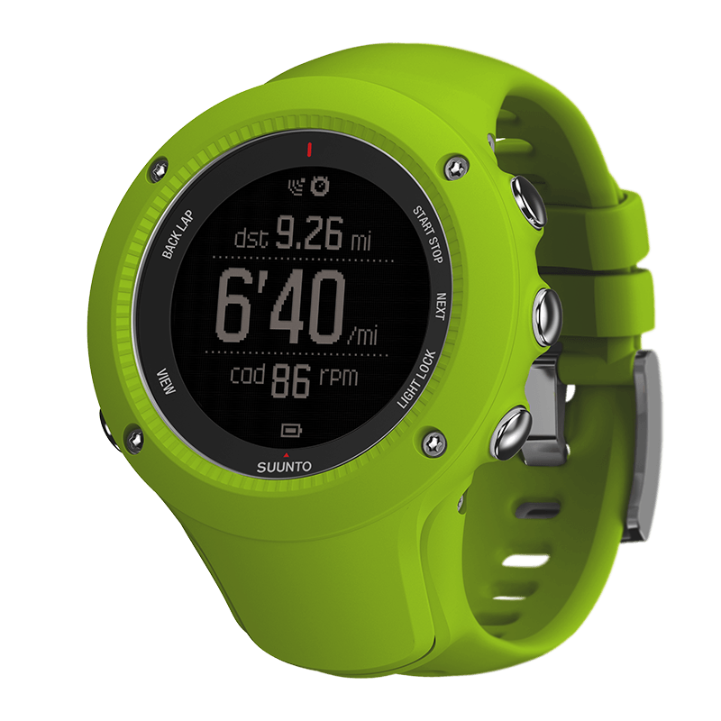 Suunto Ambit3 Run Lime HR Watch Price Distributor Dubai