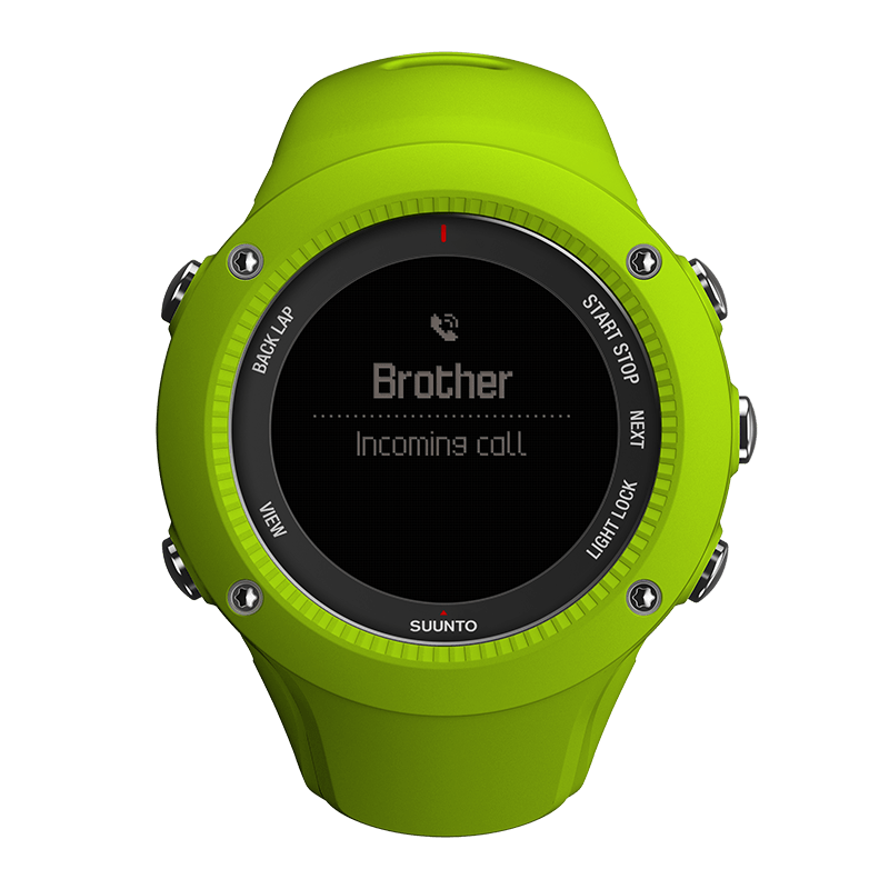 Suunto Ambit3 Run Lime HR Watch Price Distributor UAE
