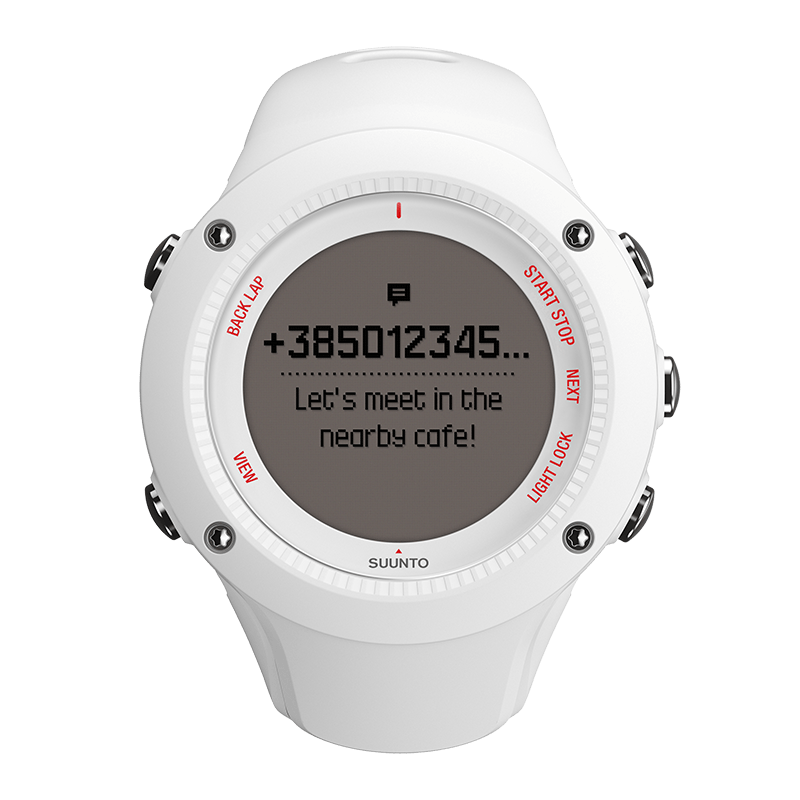 Suunto Ambit3 Run White HR Watch Price Distributor Dubai