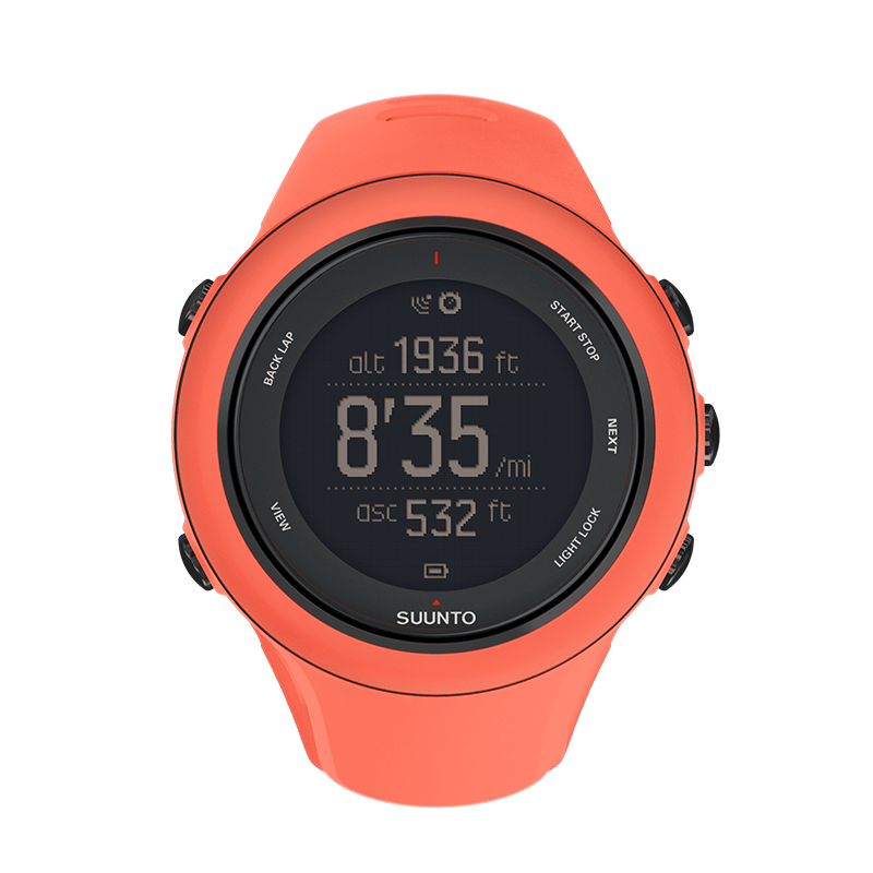 Suunto Ambit3 Sport Coral HR Watch Price Distributor UAE