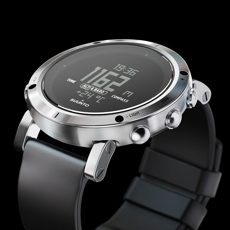 Suunto Core Brushed Steel Watch Price Distributor UAE