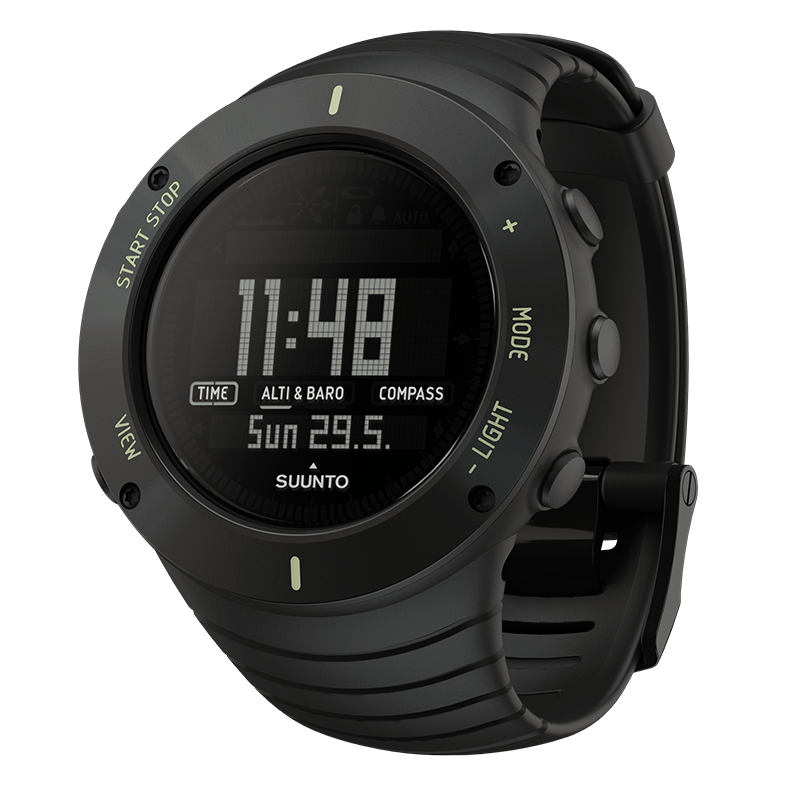 Suunto Core Ultimate Black Watch Price Distributor Dubai