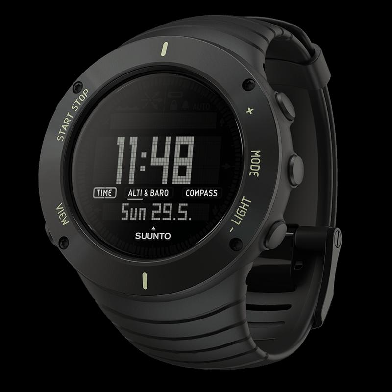 Suunto Core Ultimate Black Watch Price Distributor Dubai