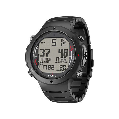 Suunto D6i All Black Steel Watch With USB Price Dubai