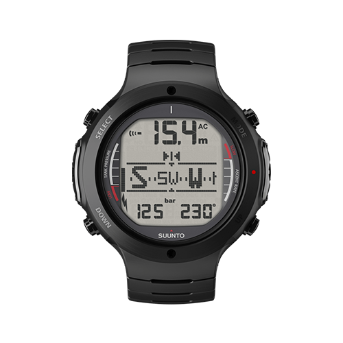 Suunto D6i All Black Steel Watch With USB Price UAE