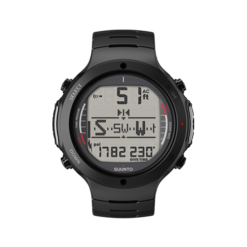 Suunto D6i All Black Steel Watch With USB Price Abudhabi