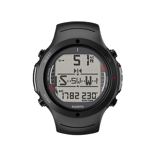 Suunto D6i All Black Watch With USB Price Dubai