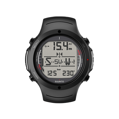 Suunto D6i All Black Watch With USB Price UAE