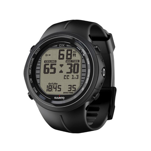 Suunto DX Black Elastomer Watch With USB Price Dubai