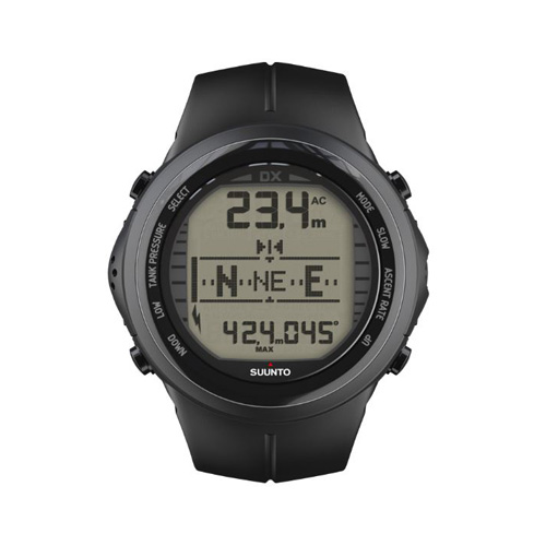 Suunto DX Black Elastomer Watch With USB Price UAE