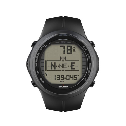 Suunto DX Black Elastomer Watch With USB Price Abudhabi