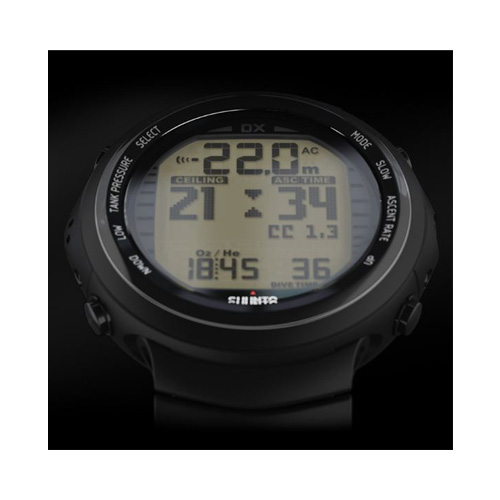 Suunto DX Black Titanium Watch With USB Price Dubai