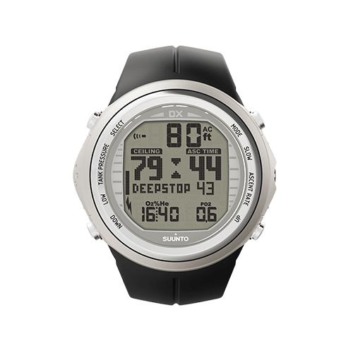 Suunto DX Silver Elastomer Watch With USB Price Dubai