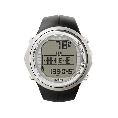 Suunto DX Silver Elastomer Watch With USB Price UAE
