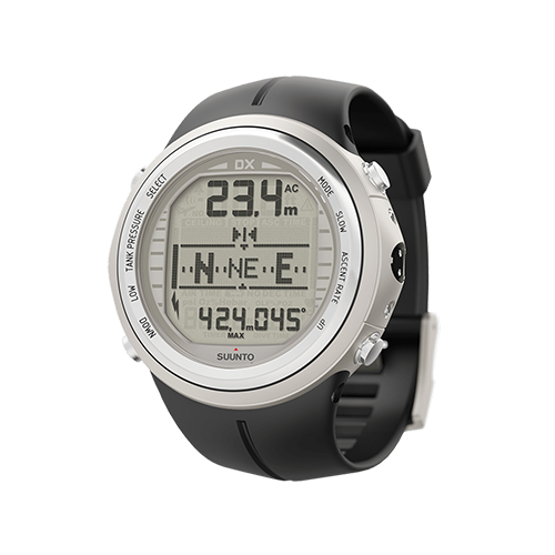 Suunto DX Silver Elastomer Watch With USB Price Abudhabi
