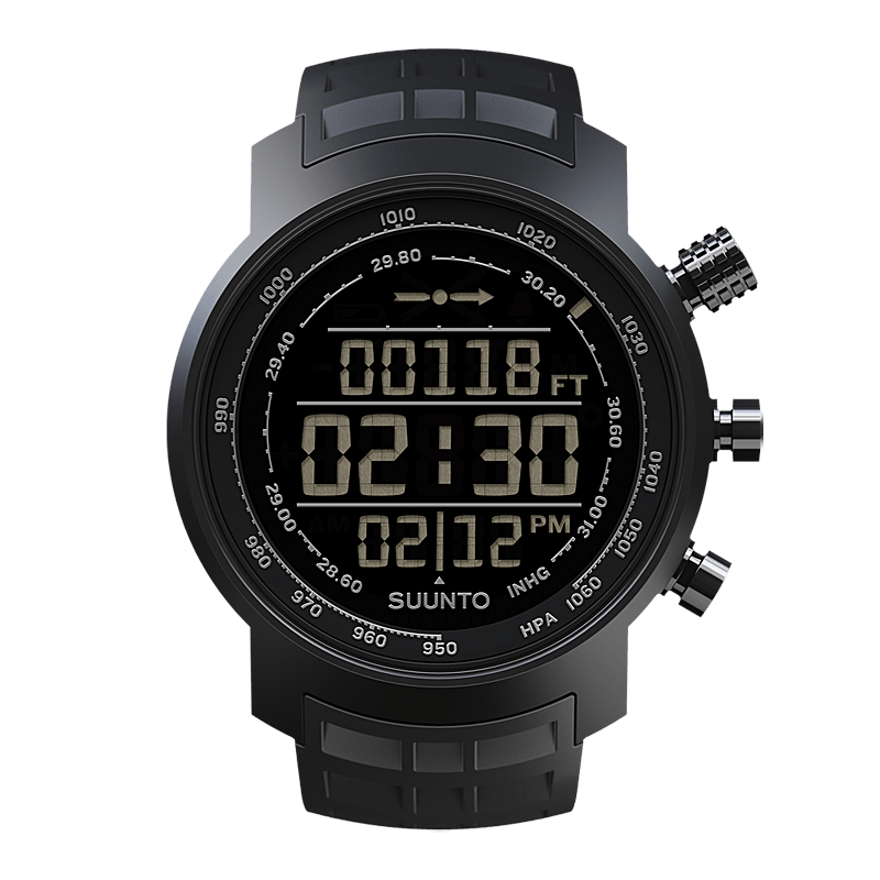Suunto Elementum Terra all Black n/ Black Watch Price Distributor UAE