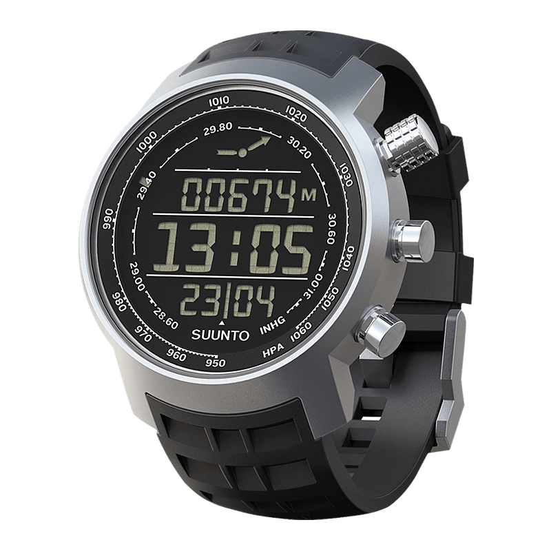 Suunto Elementum Terra n/Black Rubber Watch Price Distributor Dubai