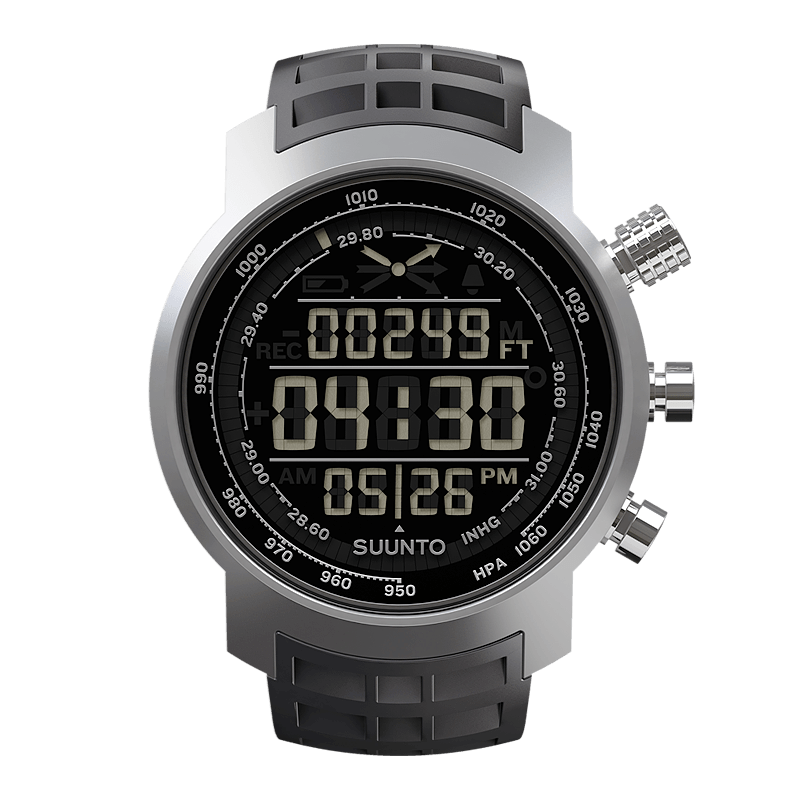 Suunto Elementum Terra n/Black Rubber Watch Price Distributor UAE