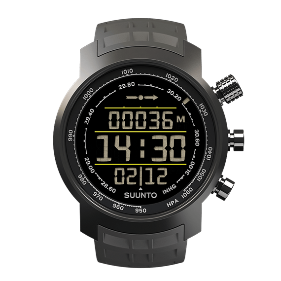 Suunto Elementum Terra n/ Stealth Rubber Watch Price Distributor Dubai