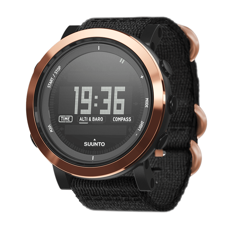 Suunto Essential Ceramic Copper Black TX Watch Price Distributor Dubai