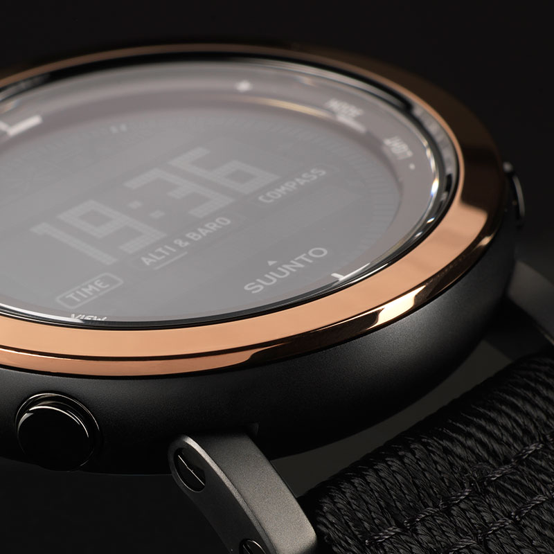 Suunto Essential Ceramic Copper Black TX Watch Price Distributor UAE