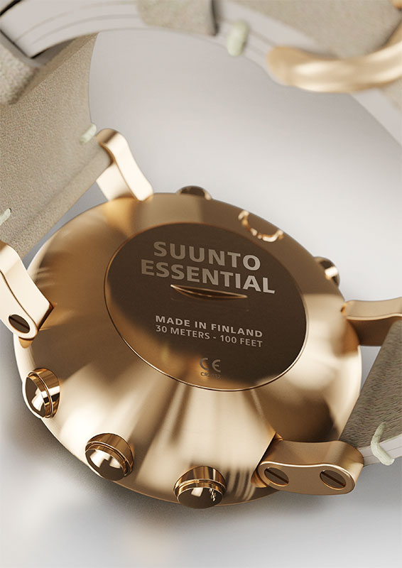 Suunto Essential Gold Watch Price Distributor UAE