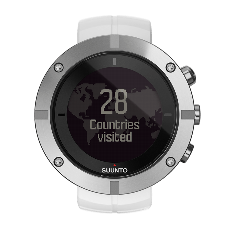 Suunto Kailash Silver Watch Price Distributor UAE