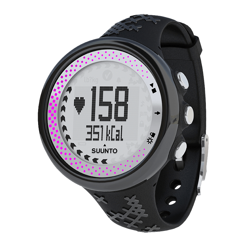 Suunto M5 Black/Silver Women Watch Price Distributor Dubai