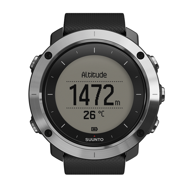 Suunto Traverse black Watch Price Distributor Abudhabi
