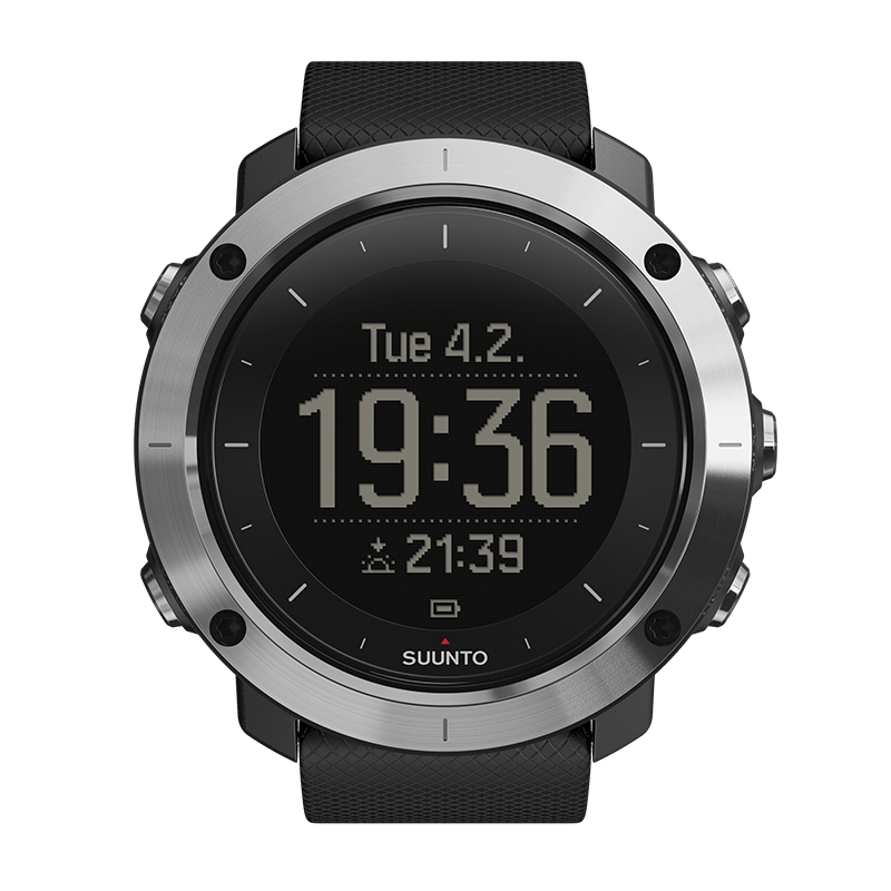 Suunto Traverse black Watch Price Distributor Dubai