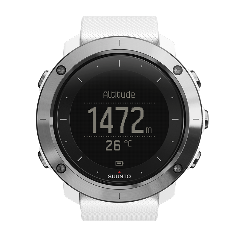Suunto Traverse White Watch Price Distributor Abudhabi
