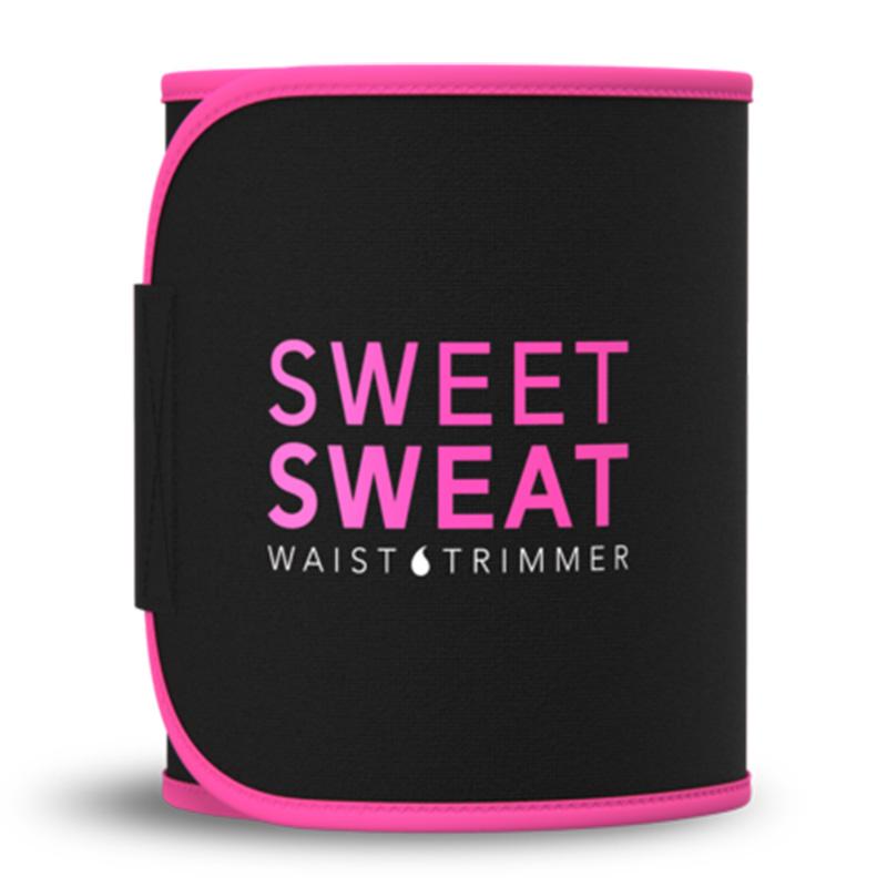 Sweet Sweat Premium Waist Trimmer Belt Pink M