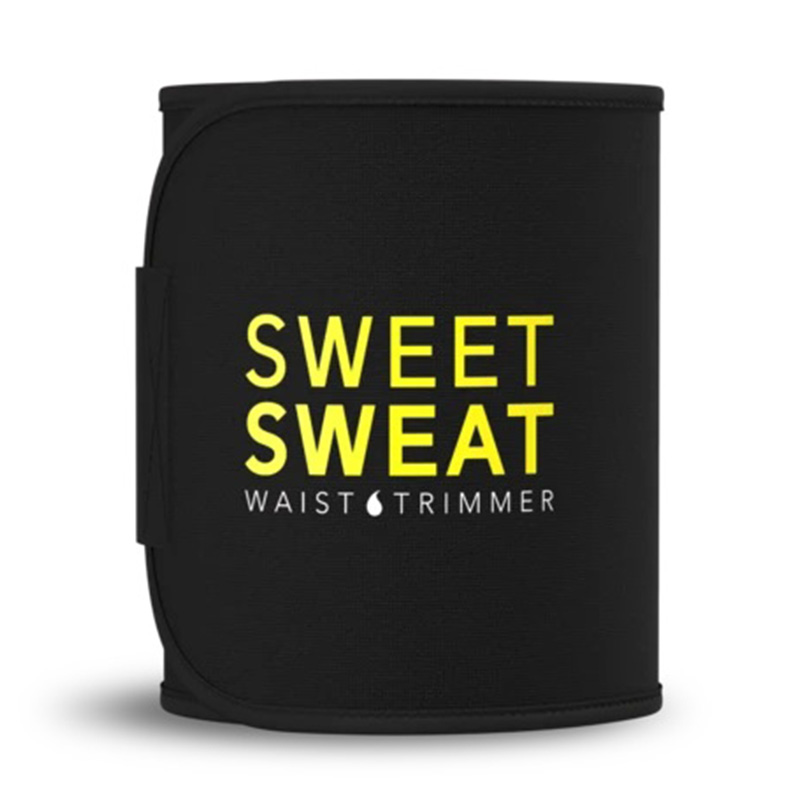 Sweet Sweat Premium Waist Trimmer Belt Yellow L