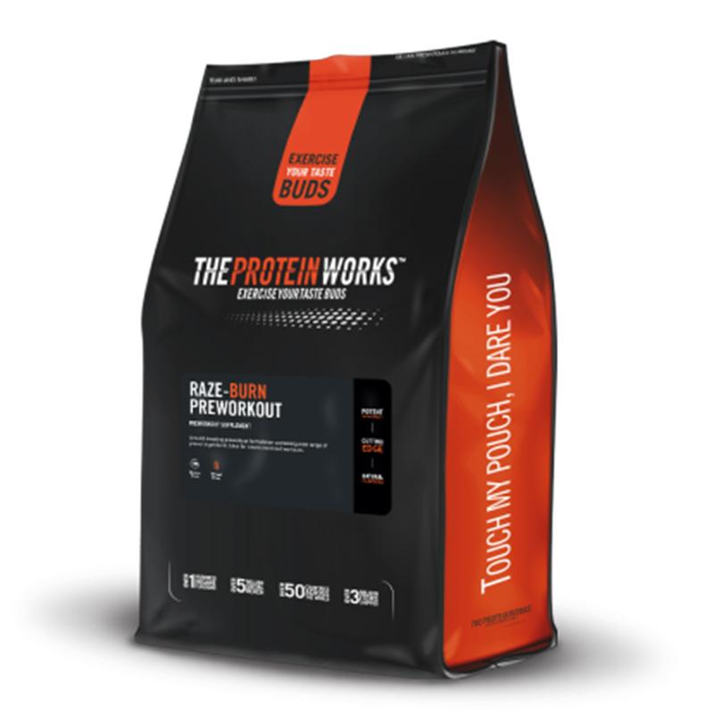 The Protein Works Pre Workout Raze Burn 250 g