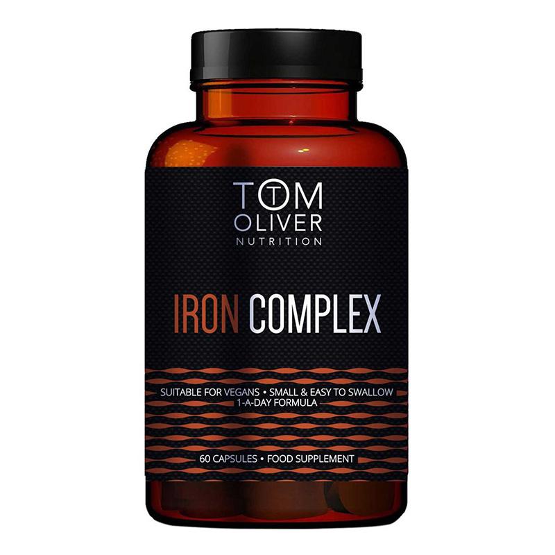 Tom Oliver Nutrition Iron Complex 60 Caps