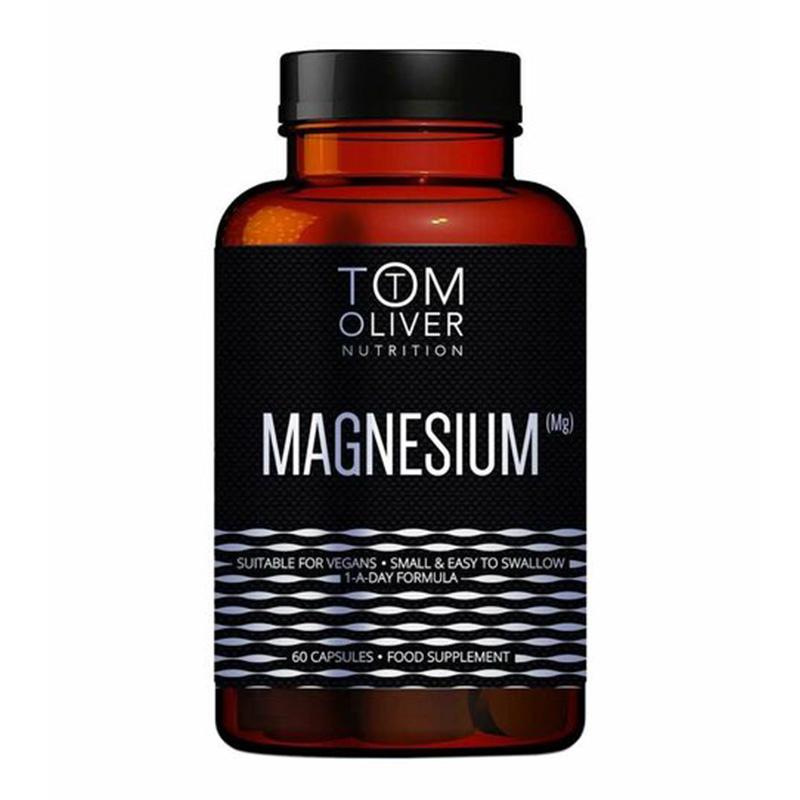 Tom Oliver Nutrition Magnesium 60 Caps