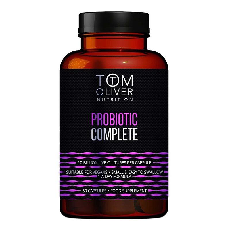 Tom Oliver Nutrition Probiotic Complete 60 Caps