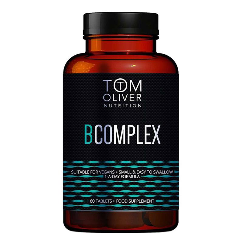 Tom Oliver Nutrition Vitamin B Complex 60 Tabs