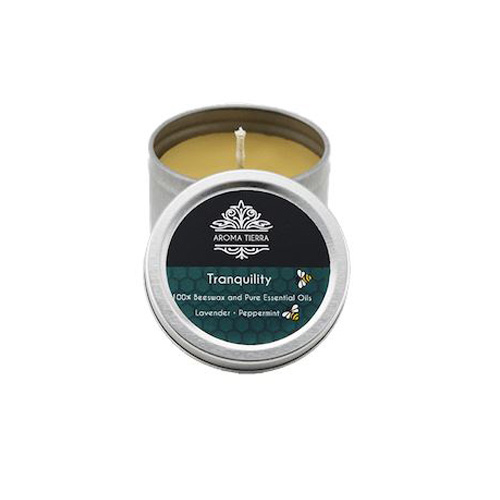 Tranquility Travel Tin Aroma Beeswax Candles Distrubutor in Dubai
