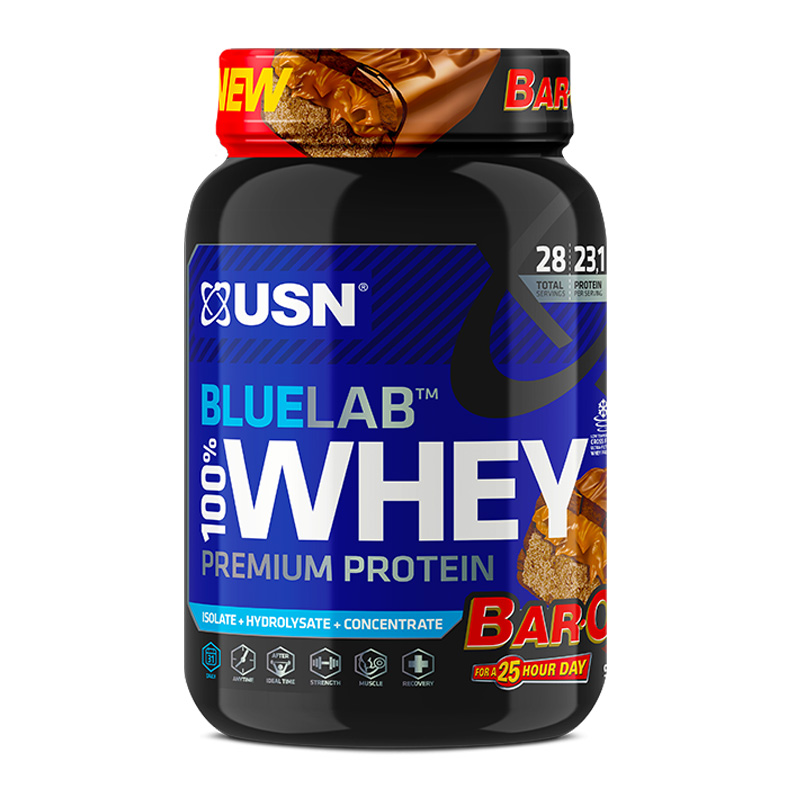 USN 100% Whey Blue Label 4.5 Lbs