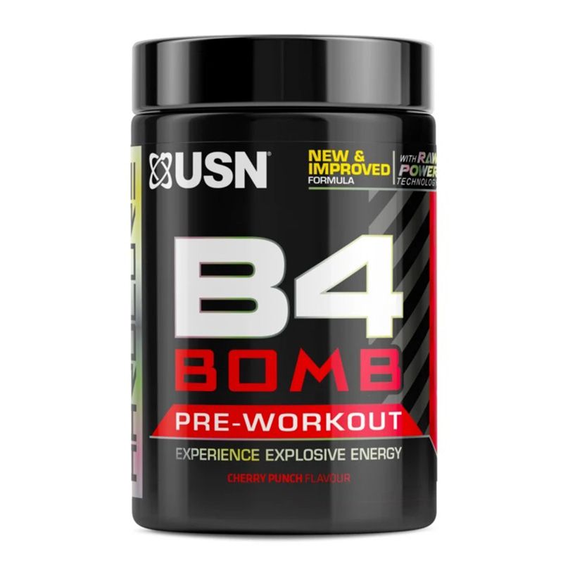 USN B4 Bomb 290G - Flavoured Pre Workout