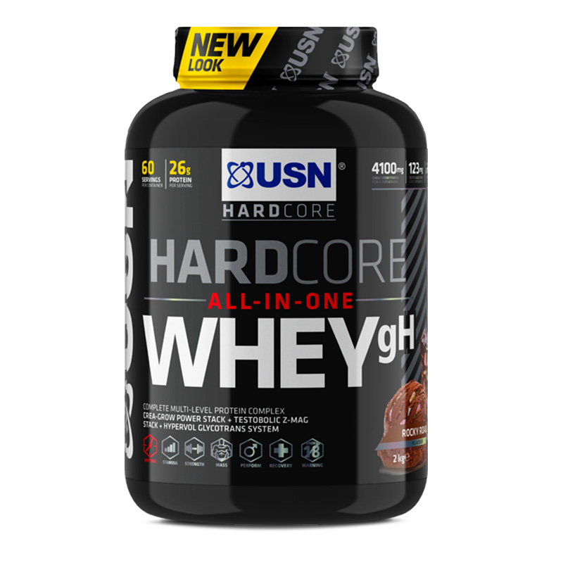 USN Hardcore All In One Whey GH 2 Kg