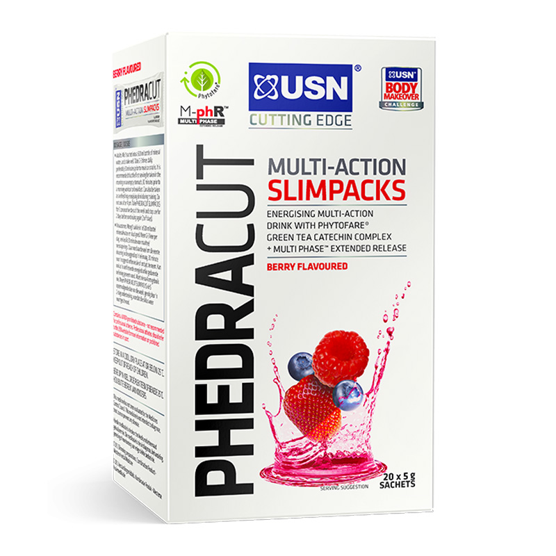 USN Phedra Cut Slimpack 20 Sachets