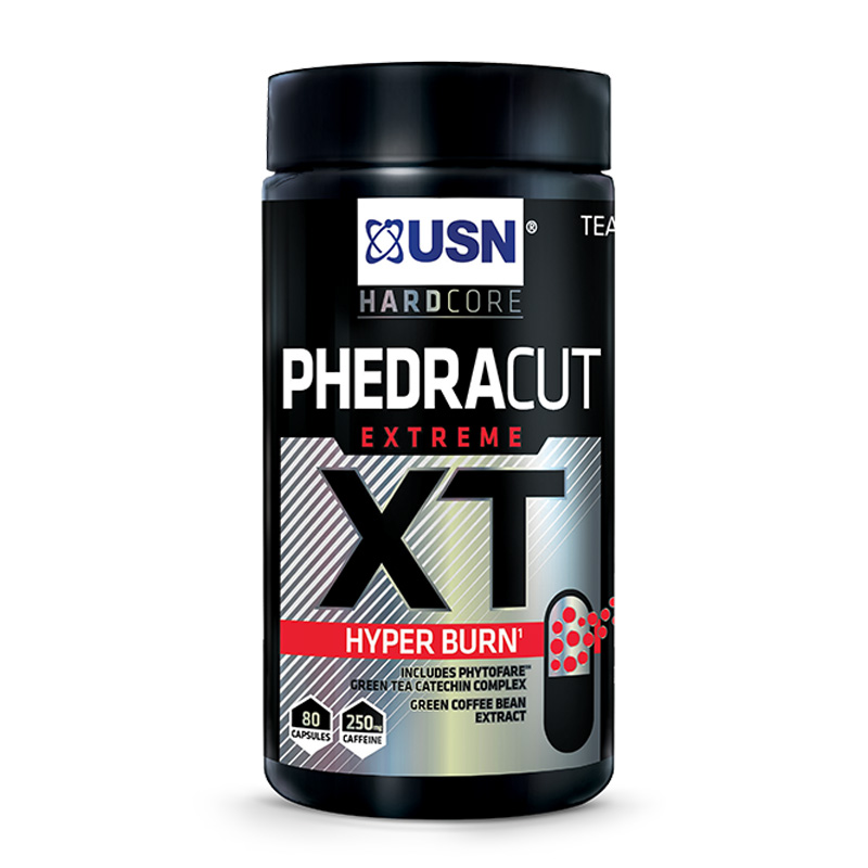 USN Phedra Cut XT Hyper Burn 80 Caps