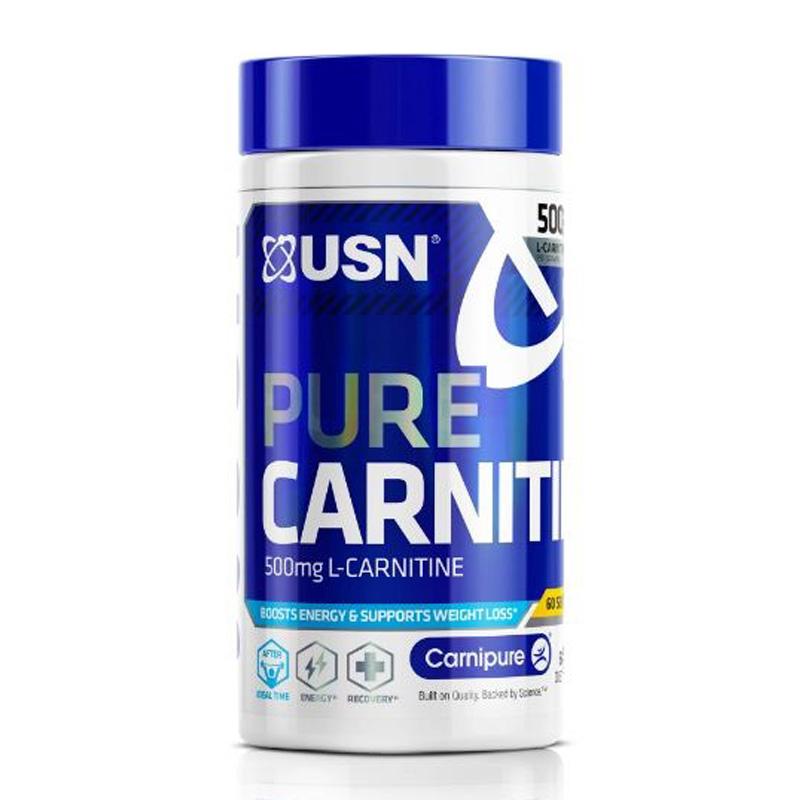 USN Pure Carnitine 60 Caps