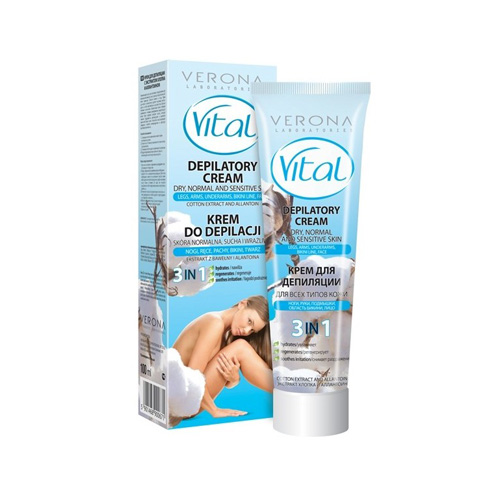 Verona Depilatory Cream Vital Cotton Extract Price Dubai