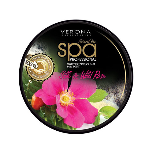 Verona Face and Body Cream Silk and Wild Rose Price Dubai