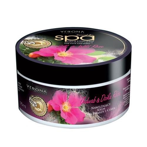 Verona Face and Body Cream Silk and Wild Rose Price UAE